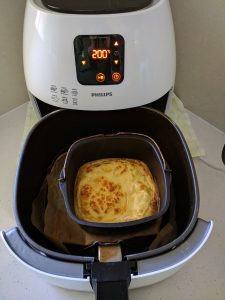 Scrambled eggs in Airfryer