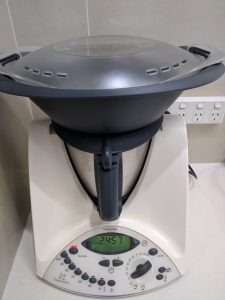 Thermomix TM31 with a Varoma on top
