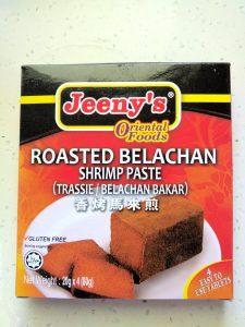 Roasted Belachan