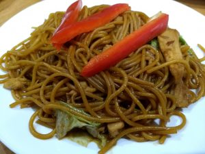 Easy Peasy Stir-Fry Chicken Noodles