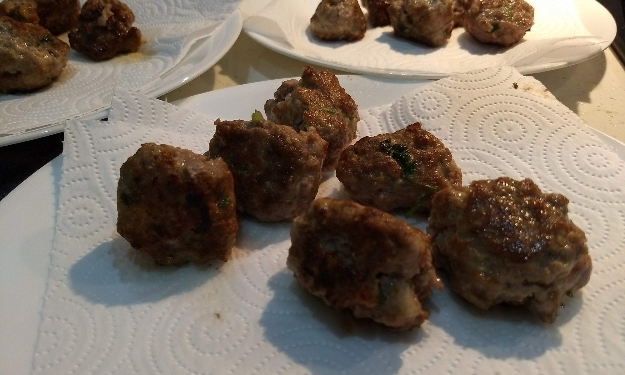 Delicious Italian Meatballs