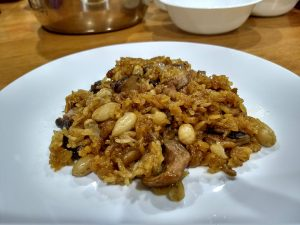 A delicious plate of Loh Mai Gai/ Glutinous Rice